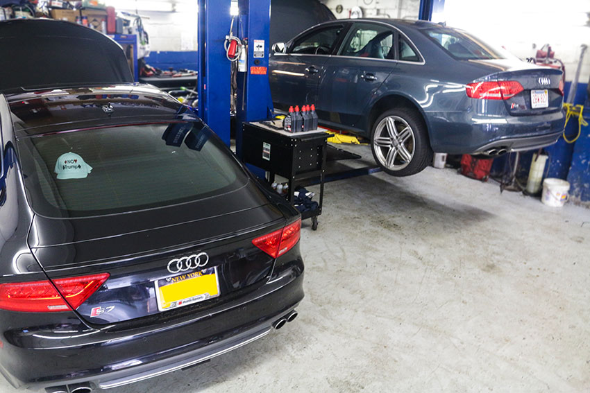 Audi S7 and S4