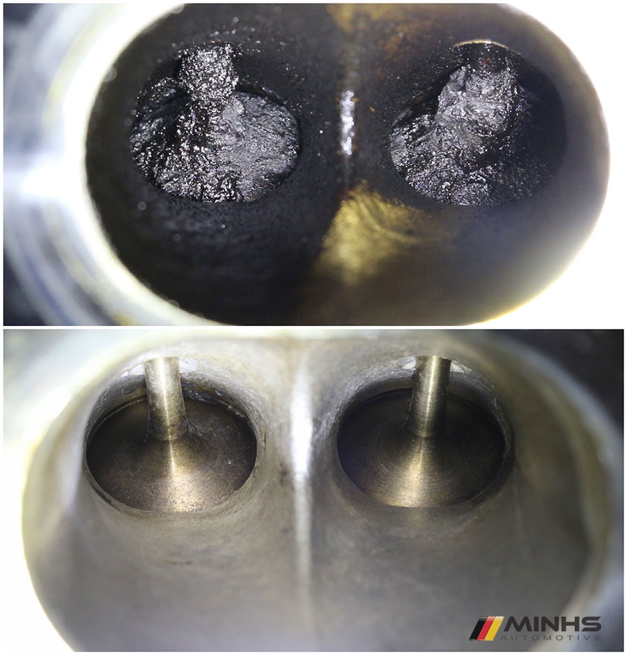 Carbon Cleaning of N63 Intake Valves